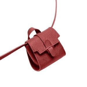 NWT Senreve Milli Maestra Bag in Pebbled Merlot